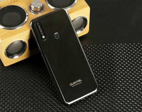 Черный Oukitel C17 Pro