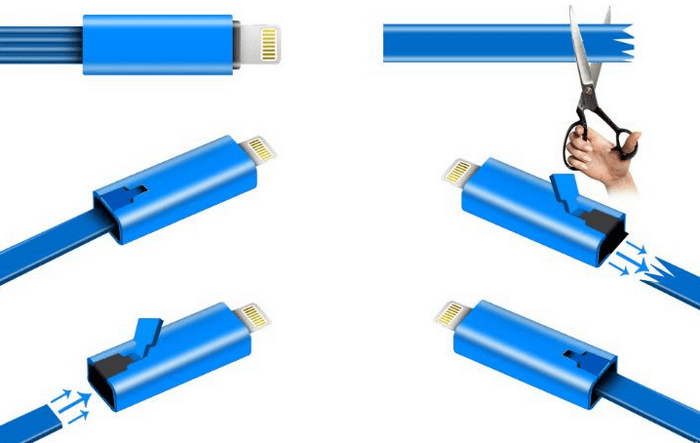Восстанавливающийся кабель
