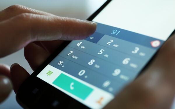 Тональный режим телефона