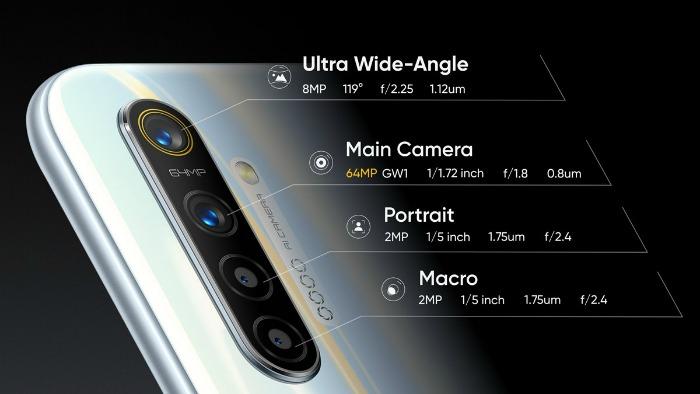 Основная камера Realme XT