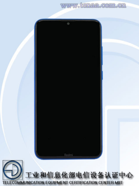 Лицевая сторона Redmi Note 8A