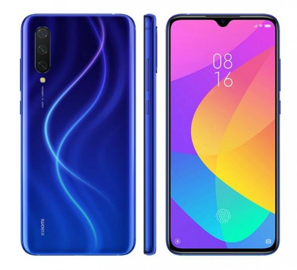 Синий Xiaomi Mi 9 Lite