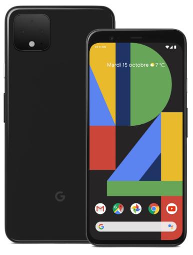 Черный Google Pixel 4