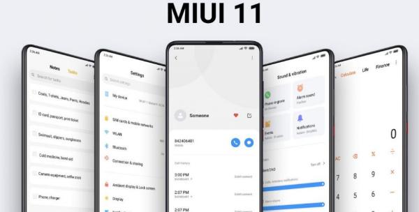 Интерфейс MIUI 11