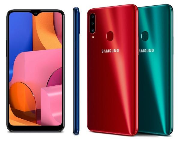 Samsung Galaxy A20s со всех сторон