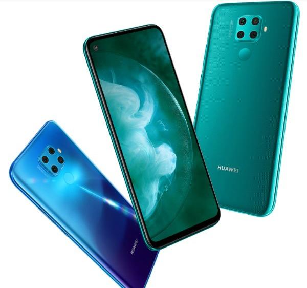 Три Huawei Nova 5z