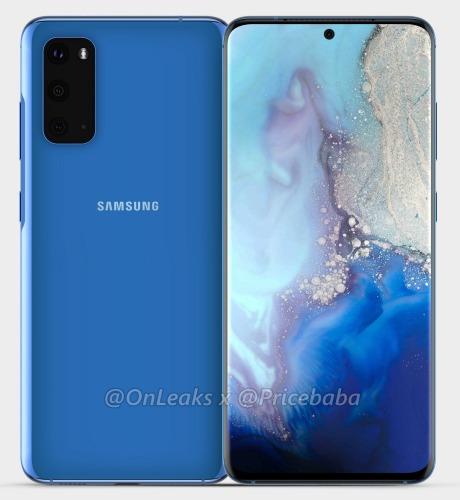 Передняя и задняя панель Samsun Galaxy S11e