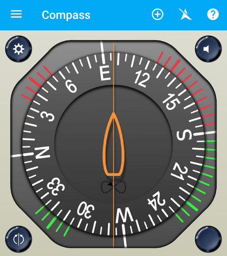 Калибровка компаса