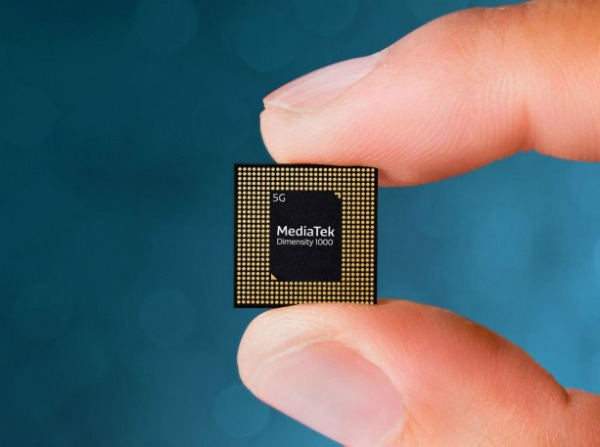MediaTek Dimensity 1000 в пальцах