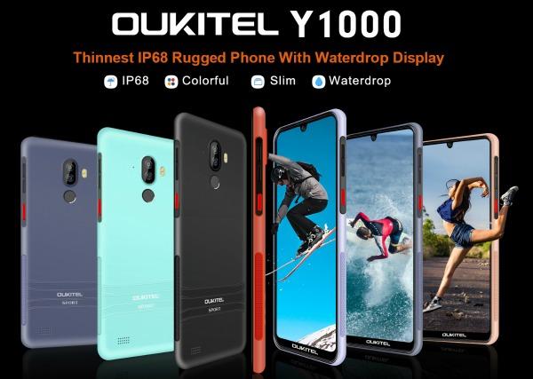 Все цвета Oukitel Y1000