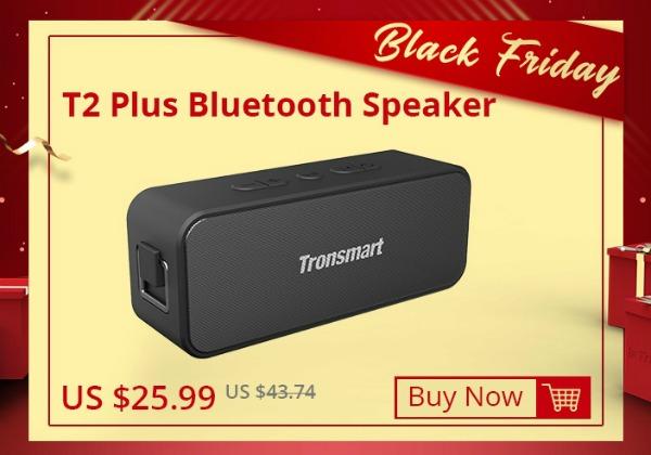Цена на Tronsmart T2 Plus в Черную пятницу