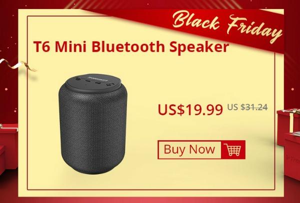 Цена на Tronsmart T6 Mini в Черную пятницу