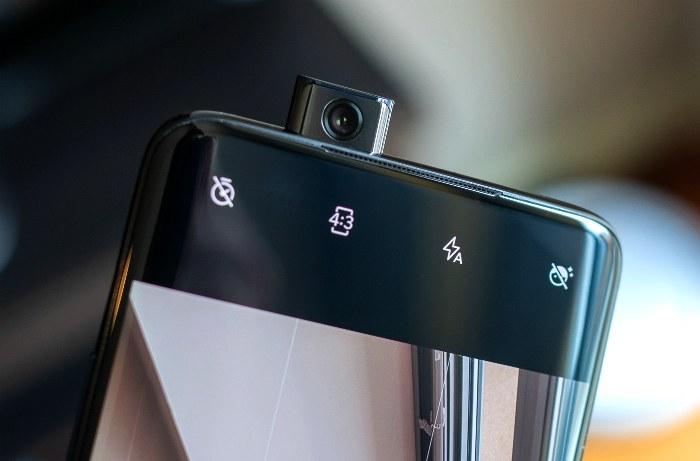 Выдвижная камера в смартфоне