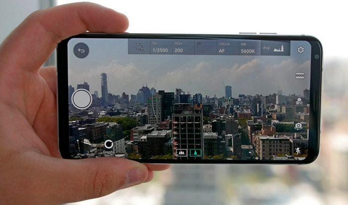 Широкоугольная камера в смартфоне