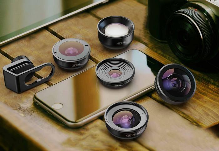 Широкоугольные объективы для смартфона