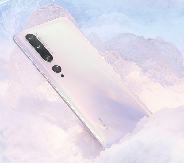 Белый Xiaomi Mi CC9 Pro