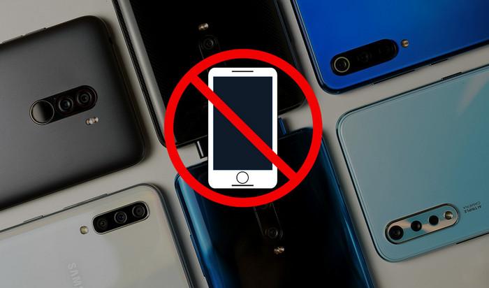 Худшие смартфоны