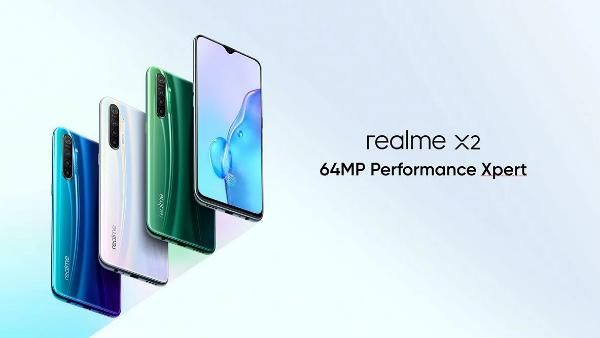 Все цвета Realme X2