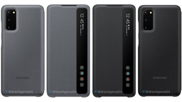 Чехол Clear View Cover для Samsung Galaxy S20
