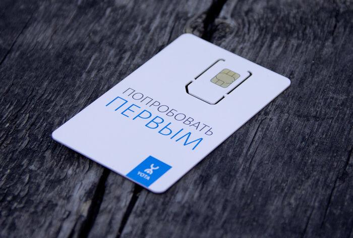 SIM-карта Yota