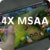 4X MSAA