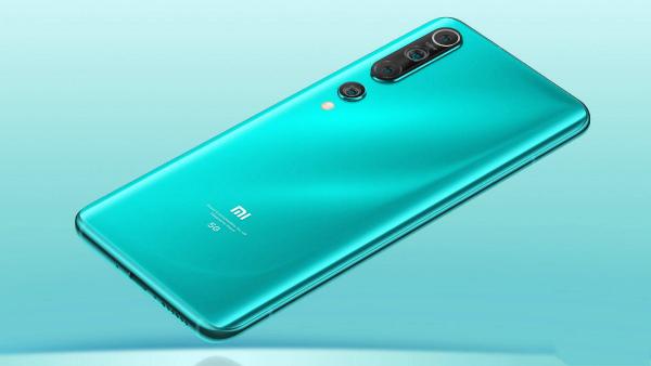 Синий Xiaomi Mi 10 Pro