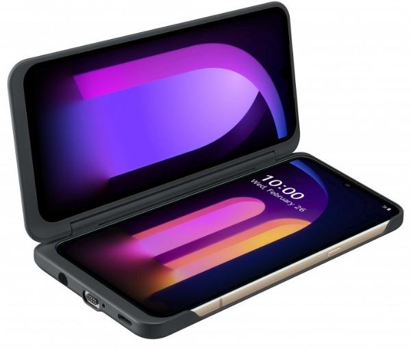 Двойной экран LG V60 ThinQ 5G
