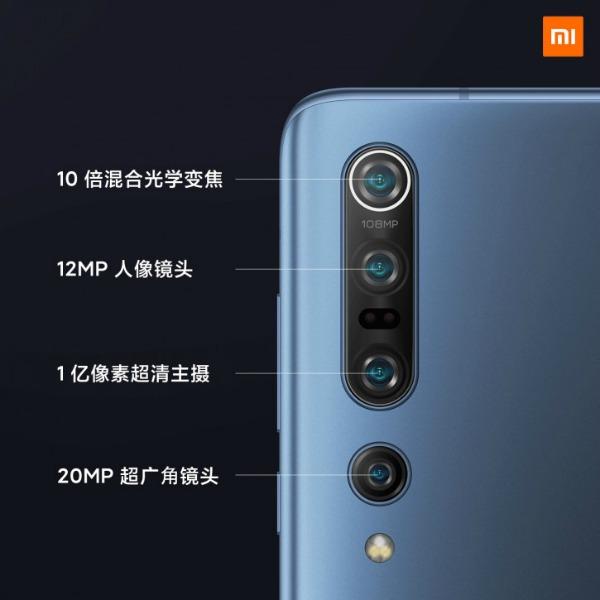 Основная камера Xiaomi Mi 10 Pro