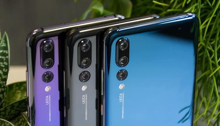 Тройные камеры в смартфонах