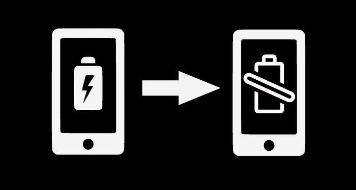 Зарядка телефона от телефона