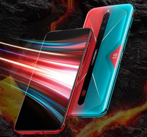 Передняя и задняя панель Nubia Red Magic 5G