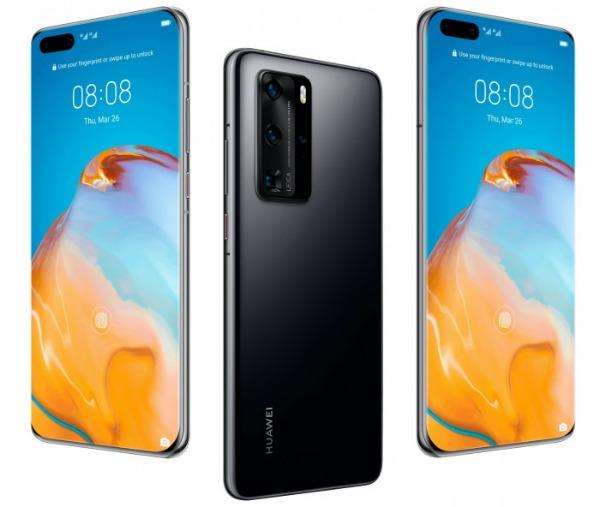 Huawei P40 со всех сторон