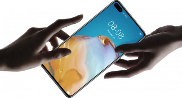 Huawei P40 в руках