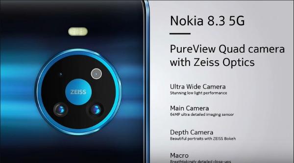 Основная камера Nokia 8.3 5G