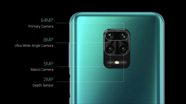 Основная камера Redmi Note 9 Pro Max