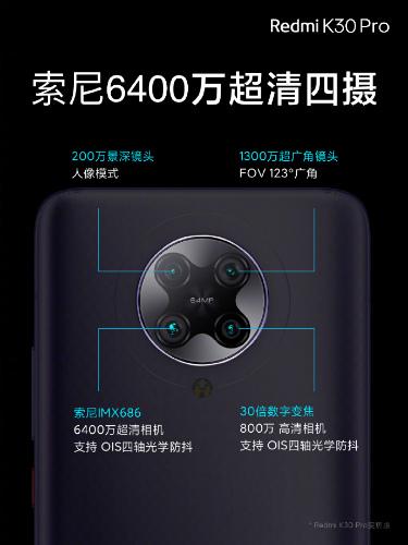 Основная камера Redmi K30 Pro