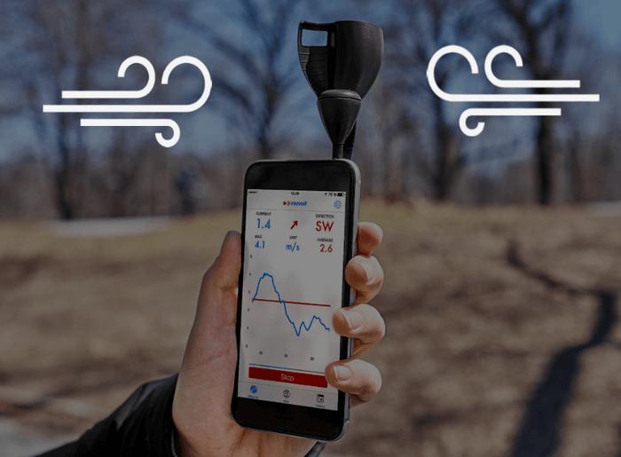 Анемометр для смартфона