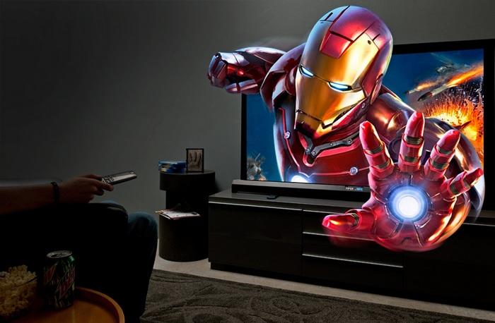 Телевизор с 3D