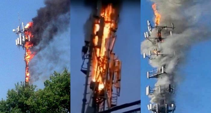 Сжигать вышки 5G