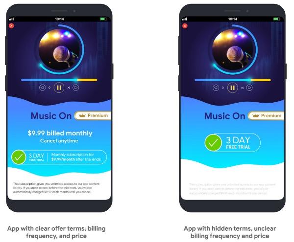 Новые правила в Google Play