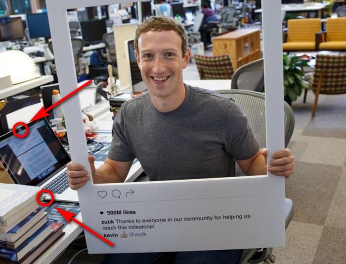 Заклеить камеру на ноутбуке