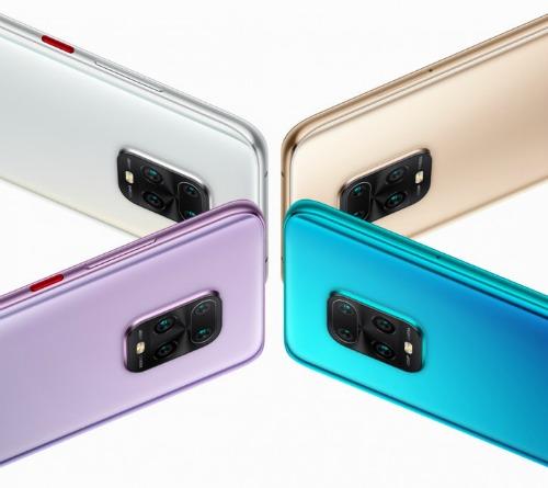 Четыре Redmi 10X Pro