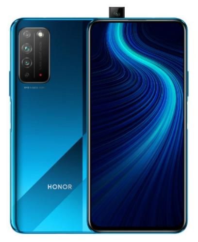 Honor X10 спереди и сзади