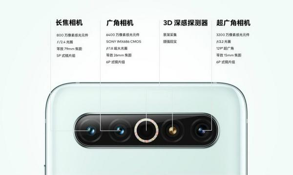 Основная камера Meizu 17 Pro