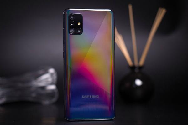 Samsung Galaxy A51 задняя панель