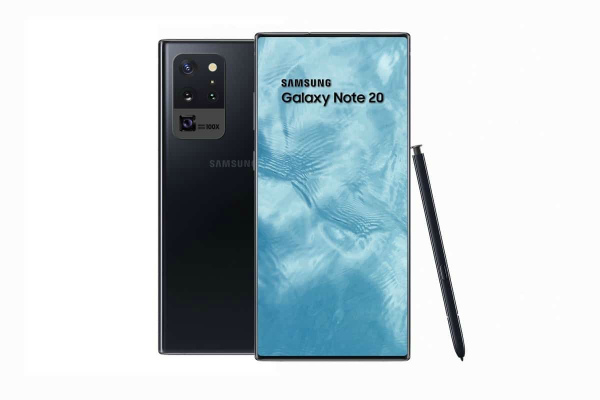 Концепт Samsung Galaxy Note 20