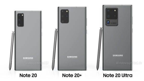 Серия Samsung Galaxy Note20
