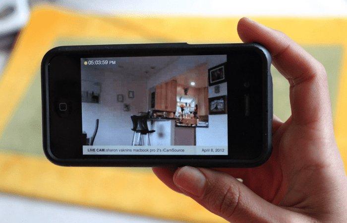 Камера смартфона может обнаружить камеру видеонаблюдения