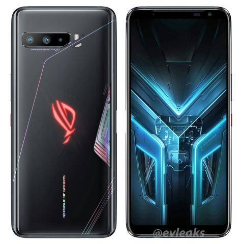 Рендеры ASUS ROG Phone 3