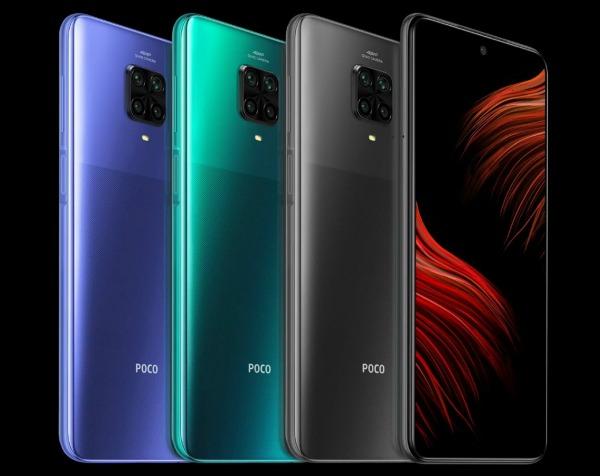 Четыре Poco M2 Pro